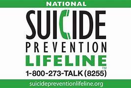 National Suicide Prevention Lifeline!