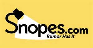 Snopes.com!